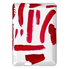 Paint Paint Smear Splotch Texture Kindle Fire Hdx Hardshell Case