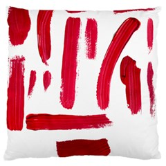 Paint Paint Smear Splotch Texture Standard Flano Cushion Case (one Side)