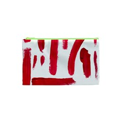 Paint Paint Smear Splotch Texture Cosmetic Bag (xs) by Nexatart