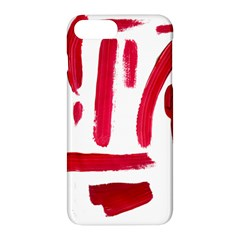 Paint Paint Smear Splotch Texture Apple Iphone 7 Plus Hardshell Case by Nexatart