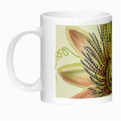 Passion Flower Flower Plant Blossom Night Luminous Mugs by Nexatart