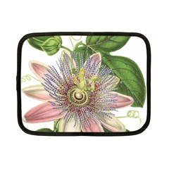 Passion Flower Flower Plant Blossom Netbook Case (small)  by Nexatart