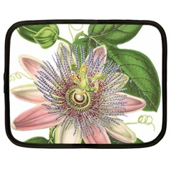 Passion Flower Flower Plant Blossom Netbook Case (large)