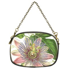 Passion Flower Flower Plant Blossom Chain Purses (one Side)  by Nexatart