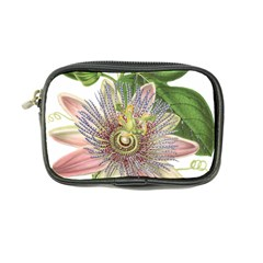 Passion Flower Flower Plant Blossom Coin Purse by Nexatart