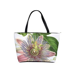 Passion Flower Flower Plant Blossom Shoulder Handbags