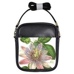 Passion Flower Flower Plant Blossom Girls Sling Bags by Nexatart