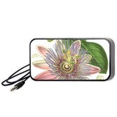 Passion Flower Flower Plant Blossom Portable Speaker (black) by Nexatart