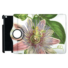 Passion Flower Flower Plant Blossom Apple Ipad 2 Flip 360 Case by Nexatart
