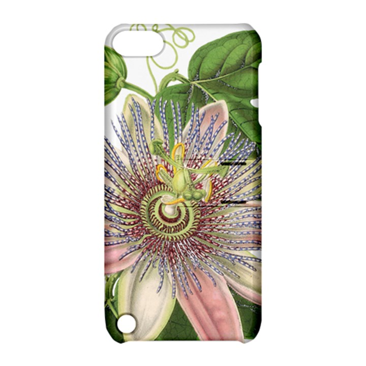Passion Flower Flower Plant Blossom Apple iPod Touch 5 Hardshell Case with Stand