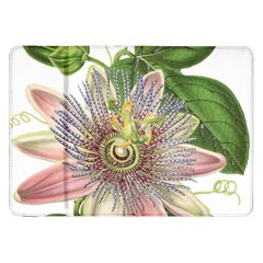 Passion Flower Flower Plant Blossom Samsung Galaxy Tab 8 9  P7300 Flip Case by Nexatart