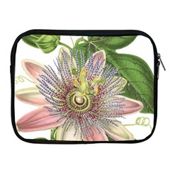 Passion Flower Flower Plant Blossom Apple Ipad 2/3/4 Zipper Cases
