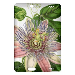 Passion Flower Flower Plant Blossom Amazon Kindle Fire Hd (2013) Hardshell Case by Nexatart
