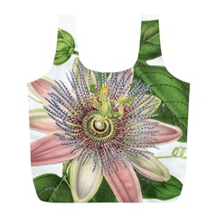 Passion Flower Flower Plant Blossom Full Print Recycle Bags (l)  by Nexatart