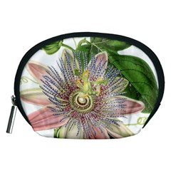 Passion Flower Flower Plant Blossom Accessory Pouches (medium)