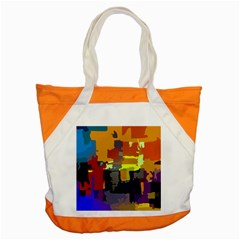 Abstract Vibrant Colour Accent Tote Bag by Nexatart