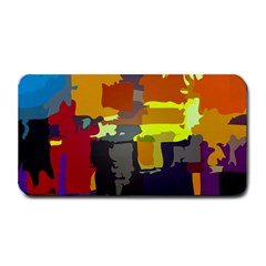Abstract Vibrant Colour Medium Bar Mats