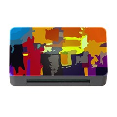 Abstract Vibrant Colour Memory Card Reader With Cf by Nexatart