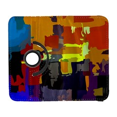 Abstract Vibrant Colour Galaxy S3 (flip/folio) by Nexatart