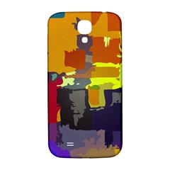 Abstract Vibrant Colour Samsung Galaxy S4 I9500/i9505  Hardshell Back Case by Nexatart