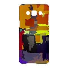 Abstract Vibrant Colour Samsung Galaxy A5 Hardshell Case