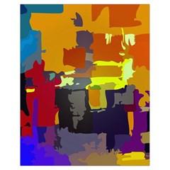 Abstract Vibrant Colour Drawstring Bag (small) by Nexatart