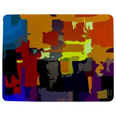 Abstract Vibrant Colour Jigsaw Puzzle Photo Stand (rectangular)