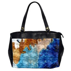 Painted Texture              Oversize Office Handbag (2 Sides) by LalyLauraFLM