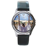 Jesus_127 Round Metal Watch