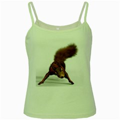 Squirrel Wild Animal Animal World Green Spaghetti Tank