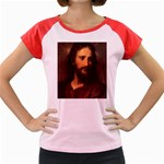 Jesus_078 Women s Cap Sleeve T-Shirt