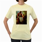 Jesus_078 Women s Yellow T-Shirt