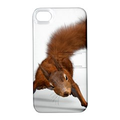 Squirrel Wild Animal Animal World Apple Iphone 4/4s Hardshell Case With Stand