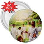 Jesus_078 3  Button (100 pack)