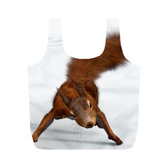 Squirrel Wild Animal Animal World Full Print Recycle Bags (m)