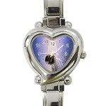 Jesus_078 Heart Italian Charm Watch