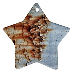Peeling Paint             Ornament (star) by LalyLauraFLM