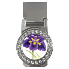 Lily Flower Plant Blossom Bloom Money Clips (cz)  by Nexatart