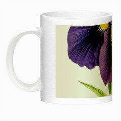 Lily Flower Plant Blossom Bloom Night Luminous Mugs