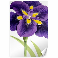 Lily Flower Plant Blossom Bloom Canvas 20  X 30   by Nexatart