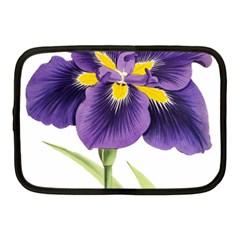 Lily Flower Plant Blossom Bloom Netbook Case (medium)  by Nexatart
