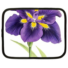 Lily Flower Plant Blossom Bloom Netbook Case (large)