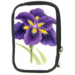 Lily Flower Plant Blossom Bloom Compact Camera Cases