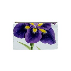 Lily Flower Plant Blossom Bloom Cosmetic Bag (small)  by Nexatart
