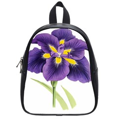 Lily Flower Plant Blossom Bloom School Bags (small)  by Nexatart