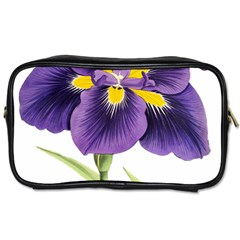 Lily Flower Plant Blossom Bloom Toiletries Bags by Nexatart