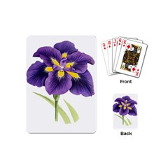 Lily Flower Plant Blossom Bloom Playing Cards (mini)  by Nexatart