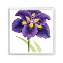 Lily Flower Plant Blossom Bloom Memory Card Reader (square)  by Nexatart