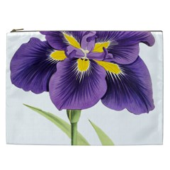 Lily Flower Plant Blossom Bloom Cosmetic Bag (xxl)  by Nexatart