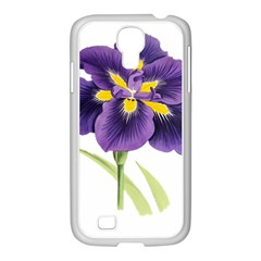 Lily Flower Plant Blossom Bloom Samsung Galaxy S4 I9500/ I9505 Case (white) by Nexatart